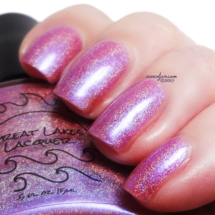 xoxoJen's swatch of Great Lakes Lacquer's Shine