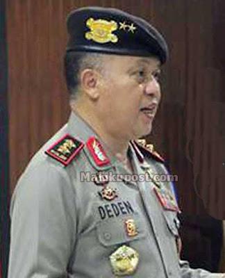 Kapolda Maluku Janji Tindak Polisi Jual Mercuri