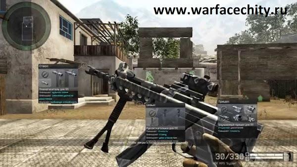 WARFACE МАКРОС MP5 БУРАН