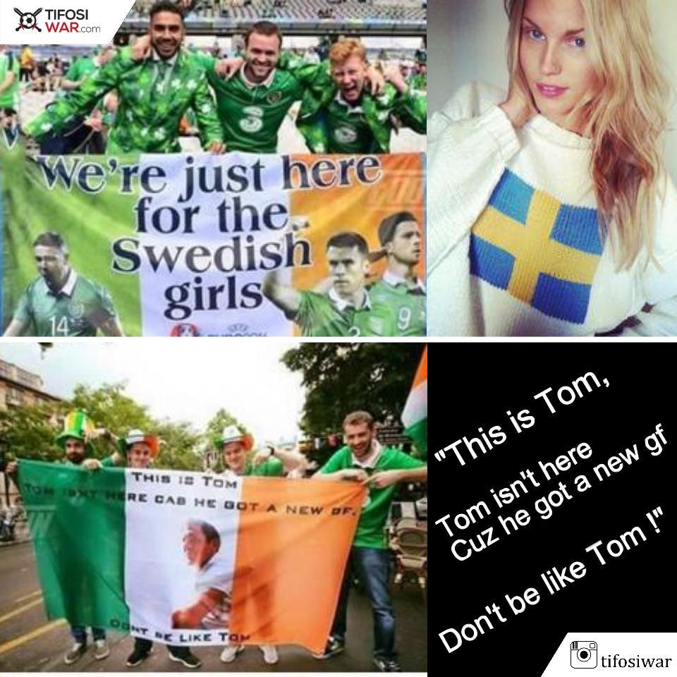 Tentang Sepakbola Aksi Konyol Suporter Irlandia