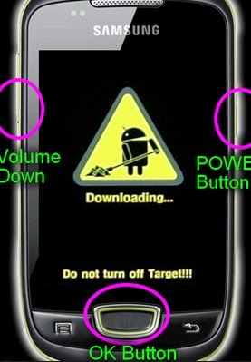 Cara Flash samsung Galaxy Mini GT-S5570 via Odin Downloader