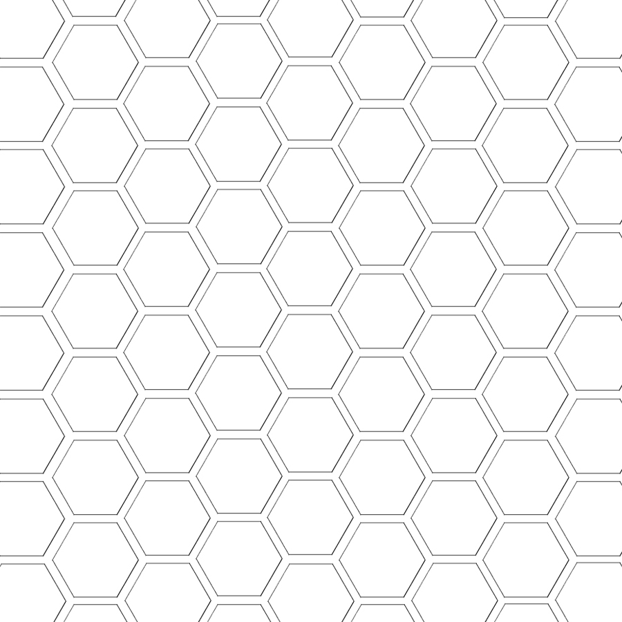 Mel Stampz: Hexagon digital paper template & hex. paper