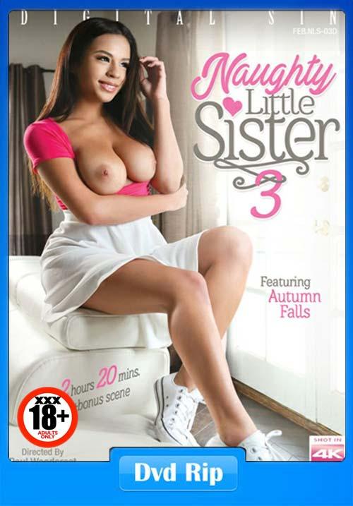 [18+] Naughty Little Sister 3 XXX Movie 2019 DVDRip x264 Poster