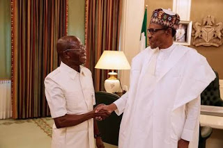 BUHARI ASKED OSHIOMOLE TO RESIGN BE FORE HE RETURNS BACK