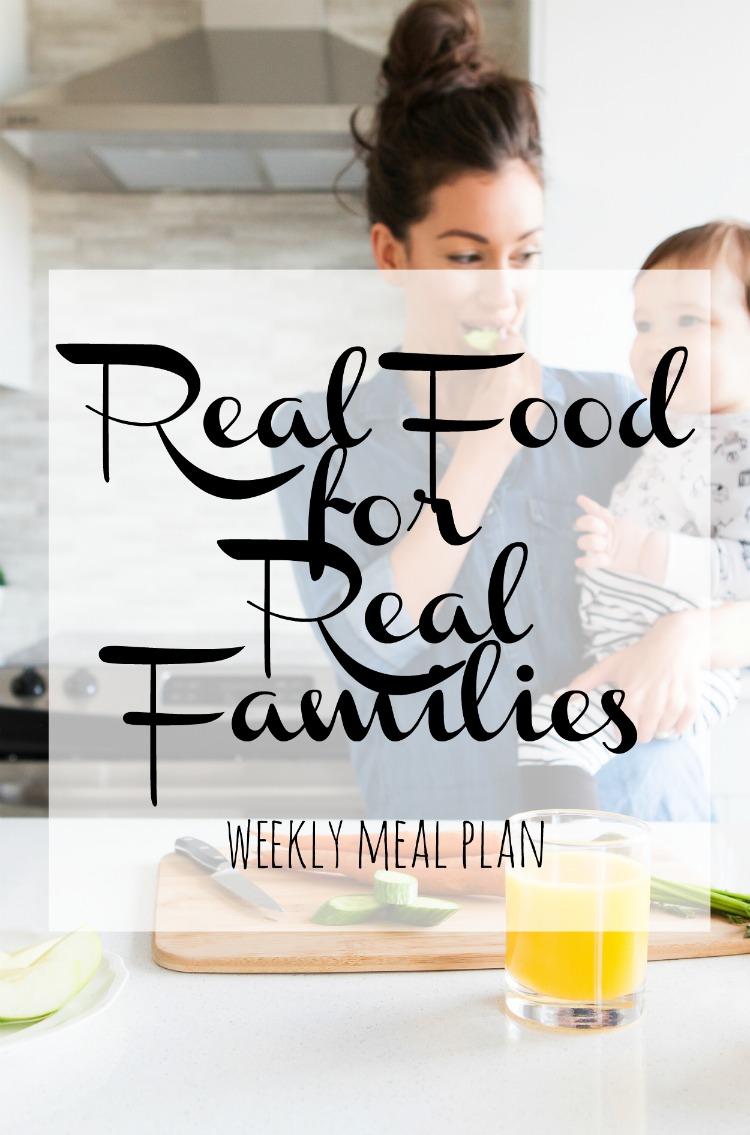 Weekly Family Meal Plan 2017 Week 26