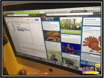 Using Padlet as a way to get the whole class involved in brainstorming information or gathering research