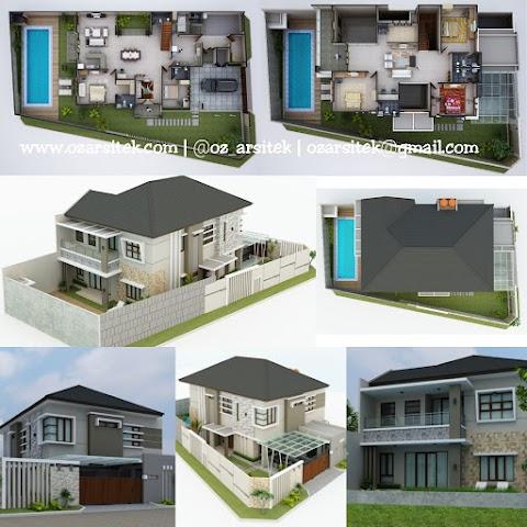 Desain Rumah Ibu Rima di Lombok