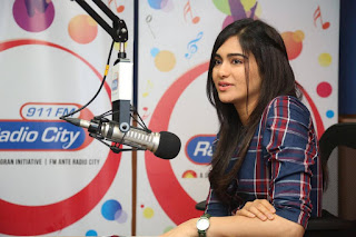 Actress Adah Sharma Stills At Radio City For Kshanam Movie Promotions 0032