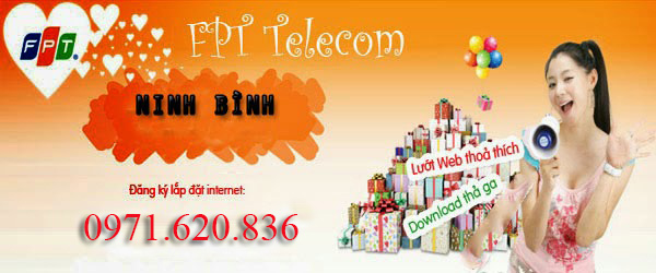 Lắp Đặt Internet FPT Phường Nam Bình, TP Ninh Bình