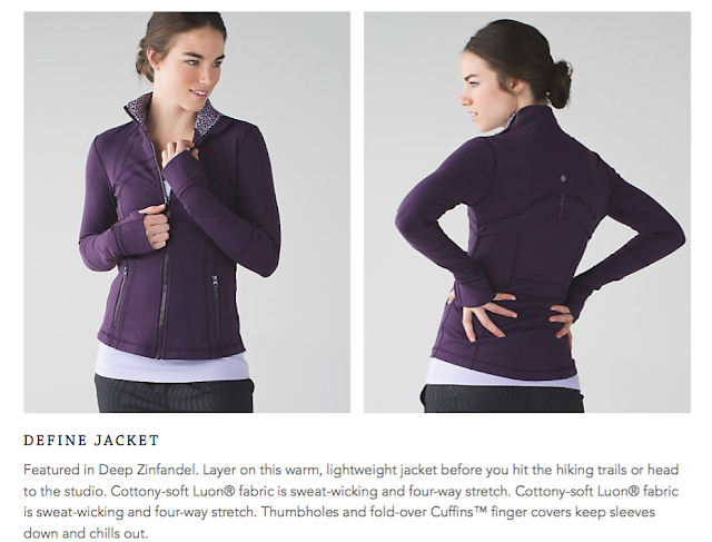 lululemon deep-zinfandel define-jacket