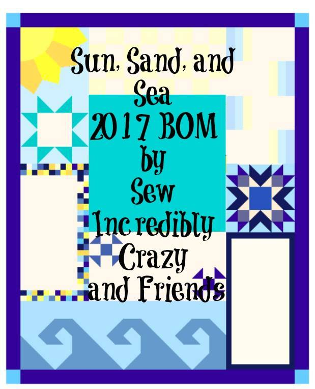 Sun, Sand, and Sea BOM 2017
