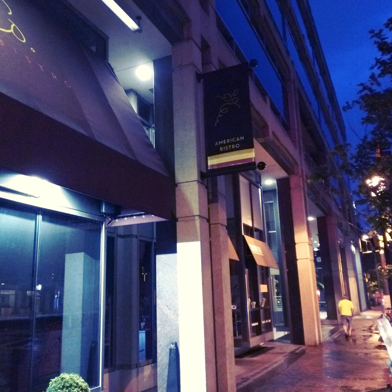 Robert dyer bethesda row food wine co closes in for Fish taco bethesda