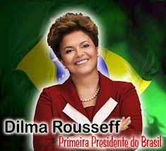 Dilma Rousseff a primeira mulher presidente do Brasil