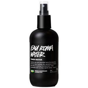 image of a container of Eau Roma Water, by Lush