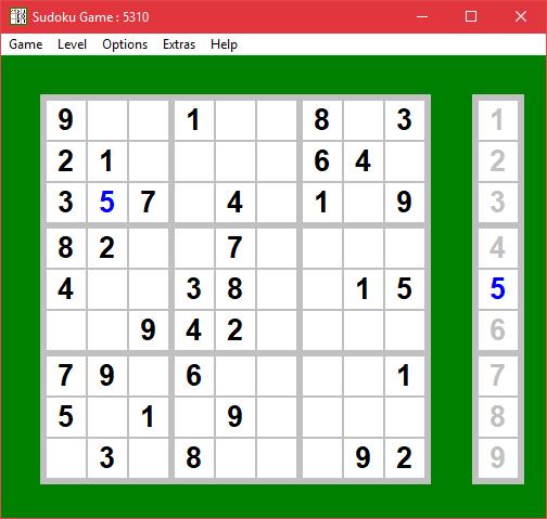 Sudoku portable para llevar en USB