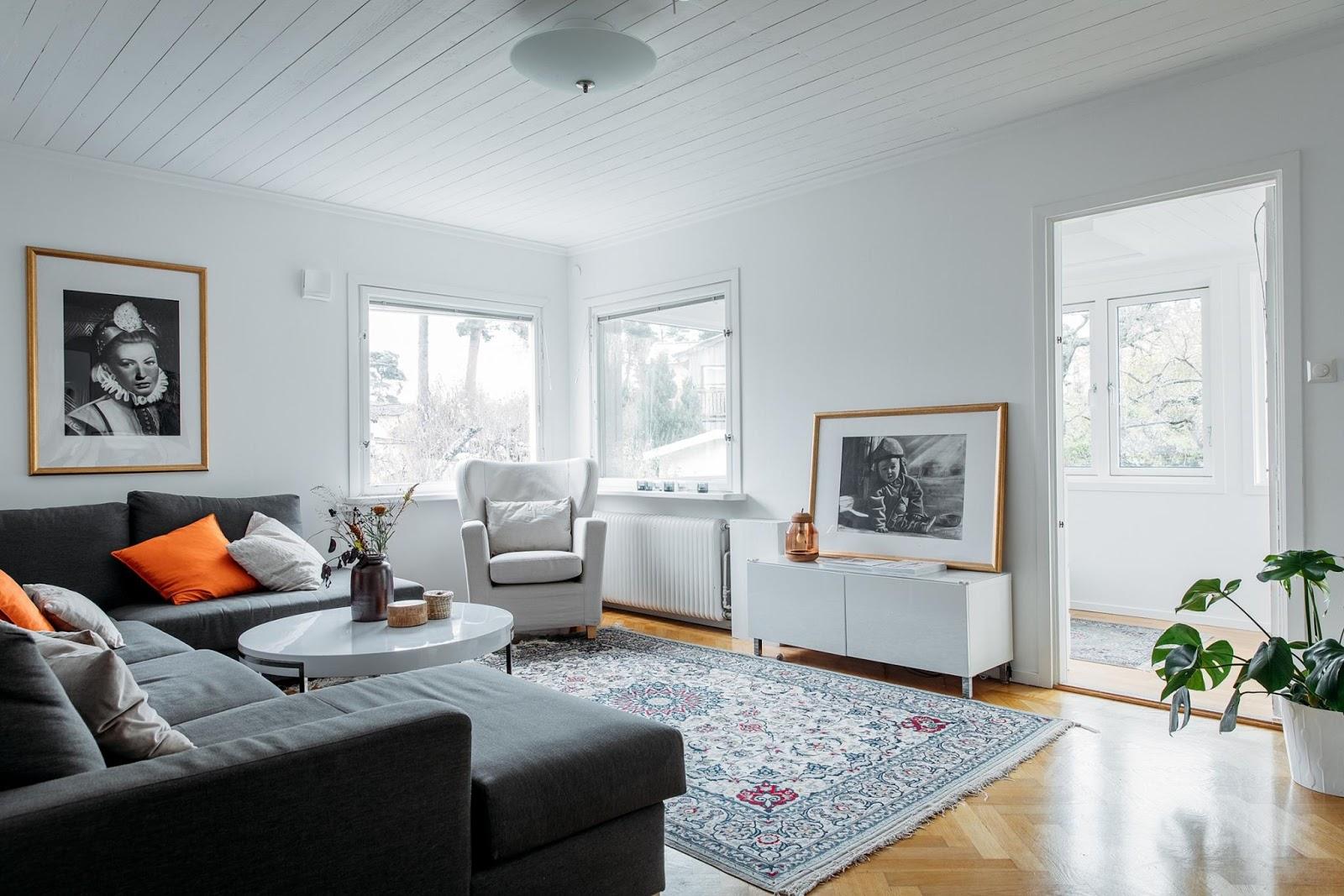 Muebles de sal n 10 autenticos salones de estilo nordico for Decoracion salon 2018
