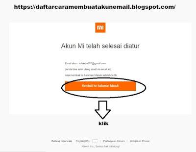 Cara Daftar Akun Mi Xiaomi