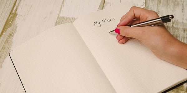 planner para organizacao pessoal