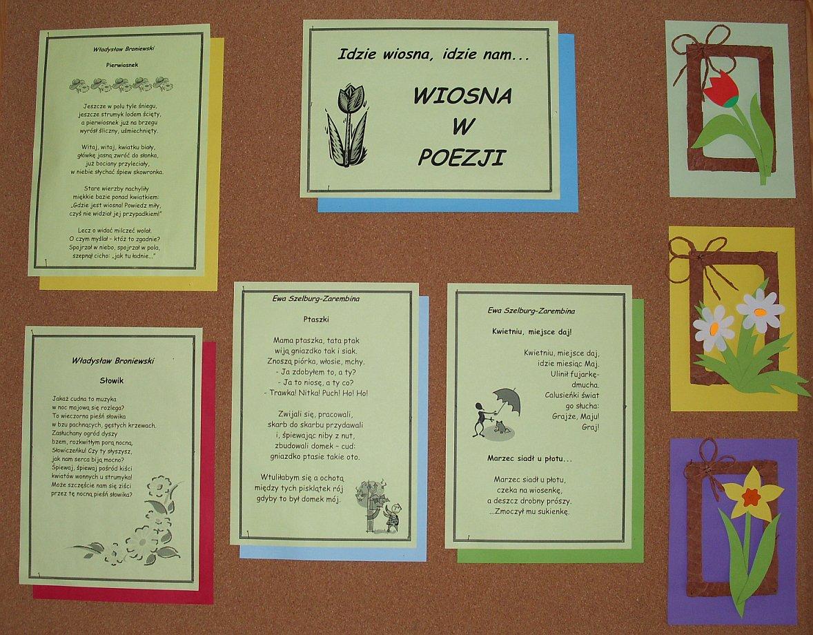 Biblioteka Wiosna W Poezji