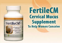 Image: FertileCM is designed to help a woman produce her own cervical mucus naturally