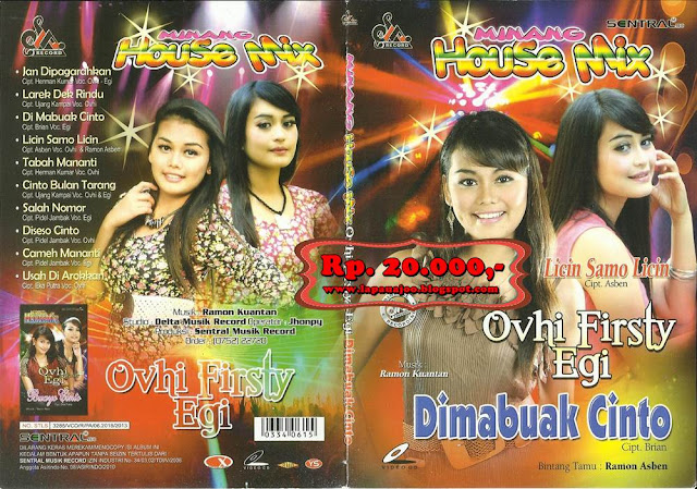 Ovhi Firsty & Egi - Dimabuak Cinto (Album Housemix Minang )