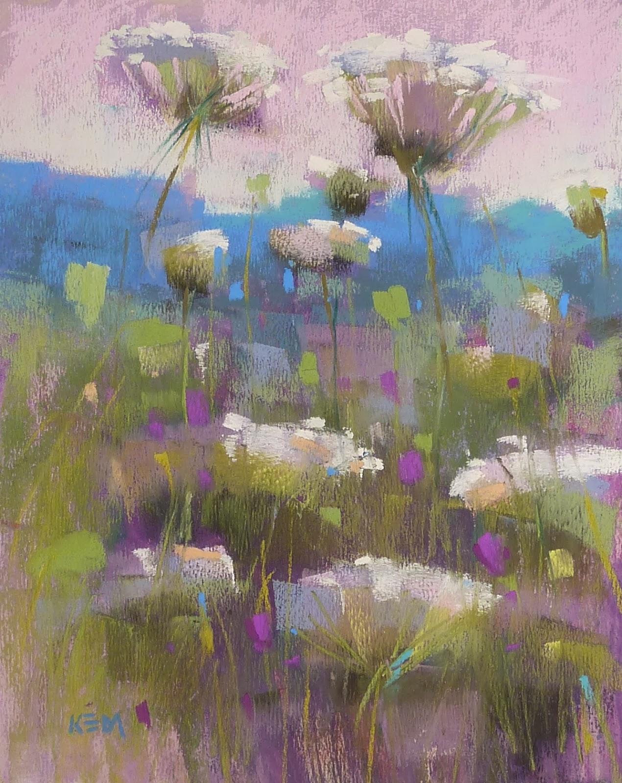 Beautiful Oil Pastel Paintings