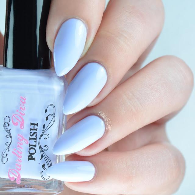 pastel purple nail polish