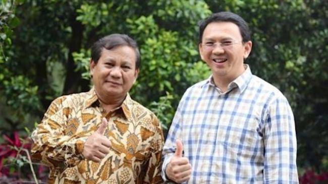 Prabowo Membuka Soal Strategi Untuk Turunkan Basuki Tjahaja Purnama (AHOK)