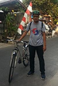 Hybrid Bike Arif Isnaeni