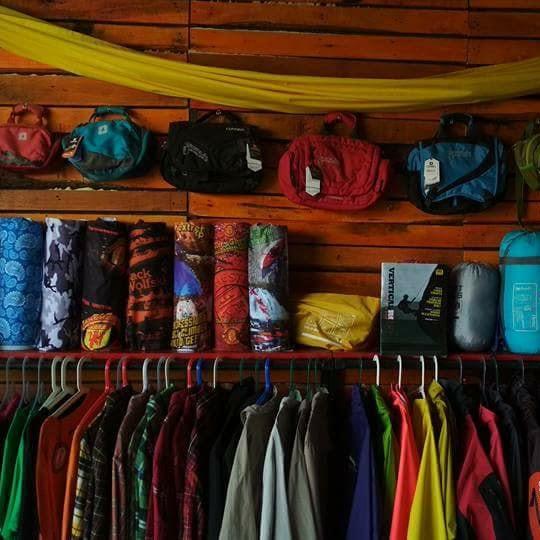 Shelter Adventure Tempat Sewa Alat Gunung di Lombok