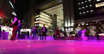 Patinação no gelo em Osaka