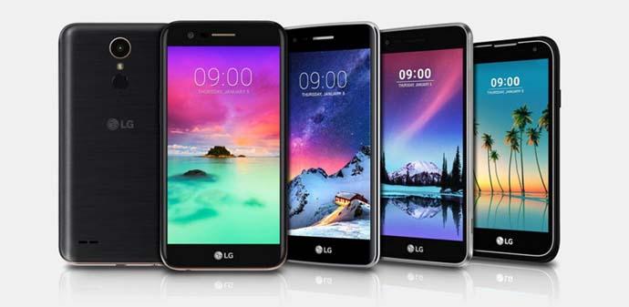 Smartphone LG K10 (2017) 2 jutaan