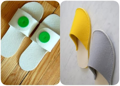 Como hacer Zapatillas de Fieltro paso a paso. Plantilla