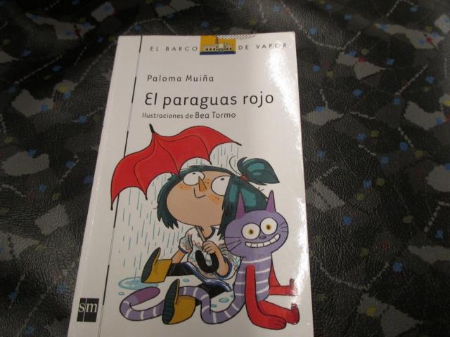 El paraguas rojo, Paloma Muiña