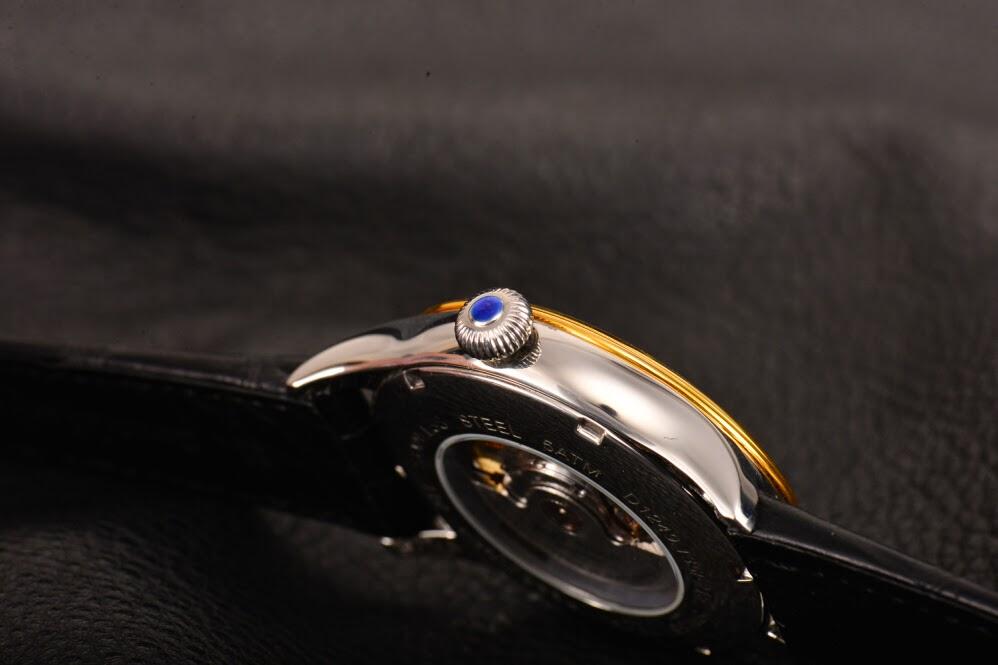 Breitling quarz horloges tag heuer horloges cartier tonneau - Roestvrijstalen kast ...