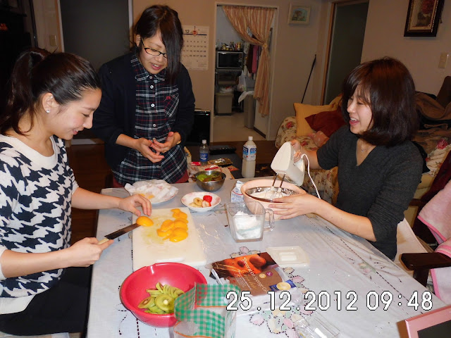 Chrismast Cake Japan