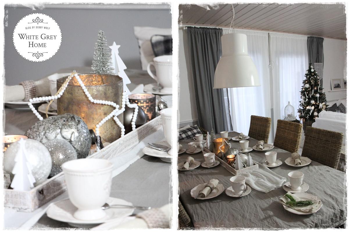 white grey home weihnachtstisch 2017. Black Bedroom Furniture Sets. Home Design Ideas