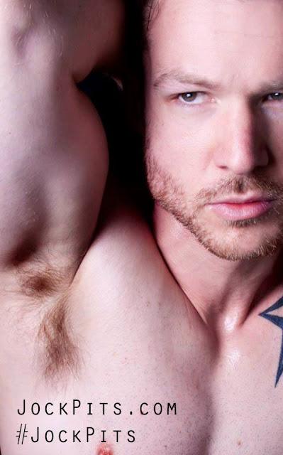 Man's Ripe Hairy Armpits