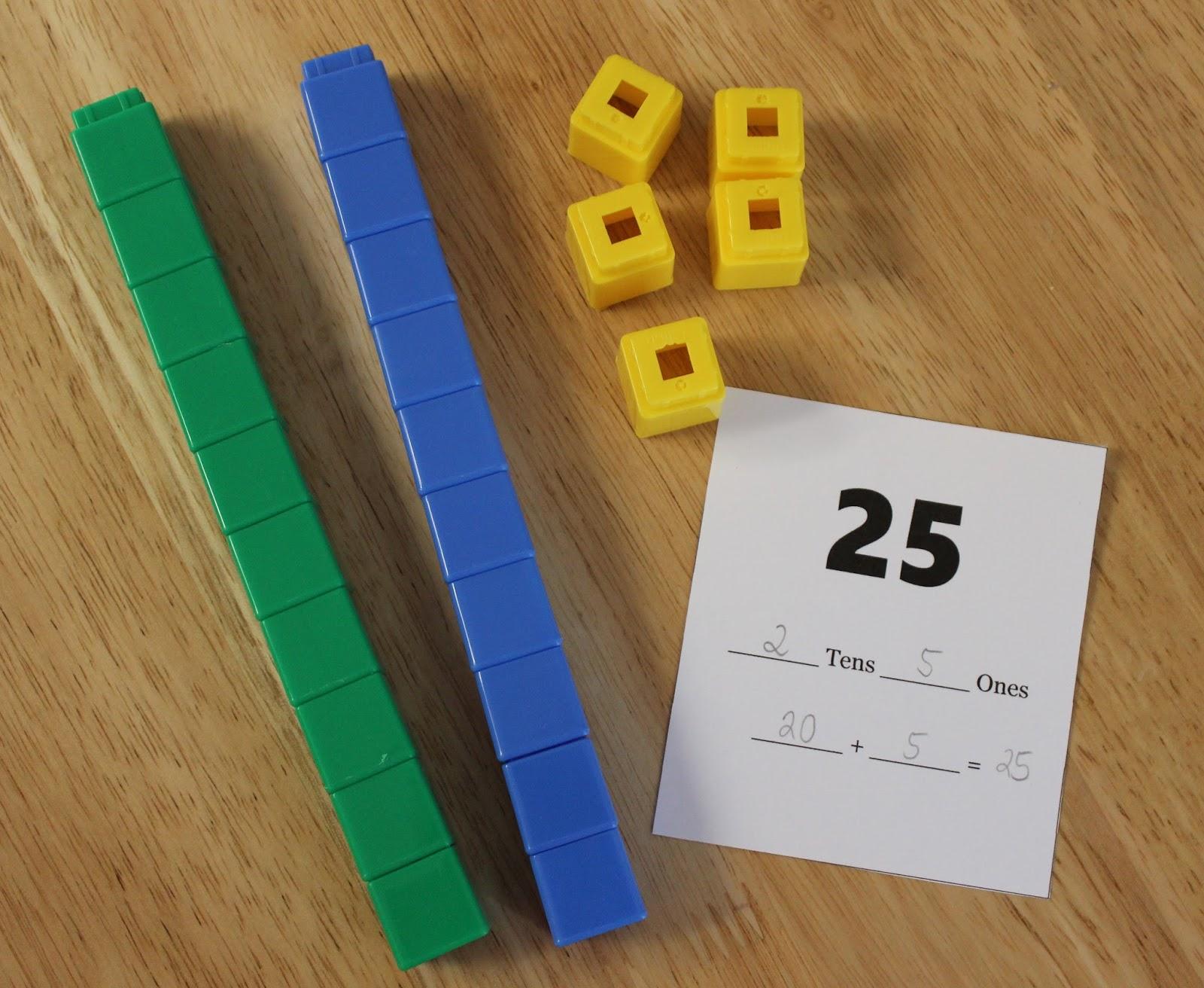 Unifix Cubes Activities Plus Free Printables