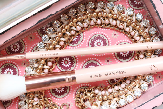 G Beauty: Glamher Booth Brushes, Studio Beau