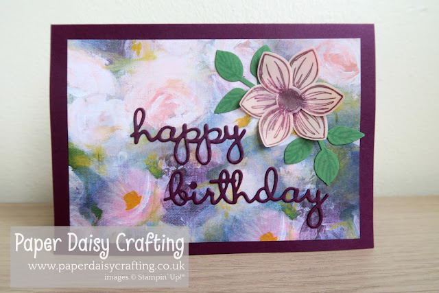 Perennial floral essence Stampin Up