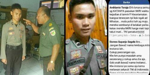 Hina TNI Penakut, Polisi Ini Dihukum