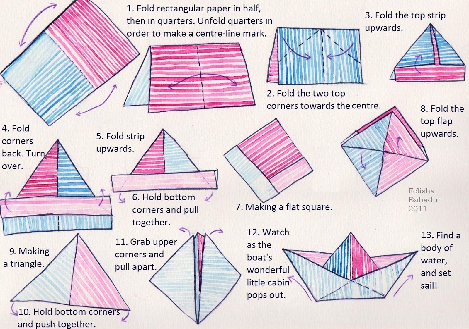 unmoored a paper boat project. Black Bedroom Furniture Sets. Home Design Ideas