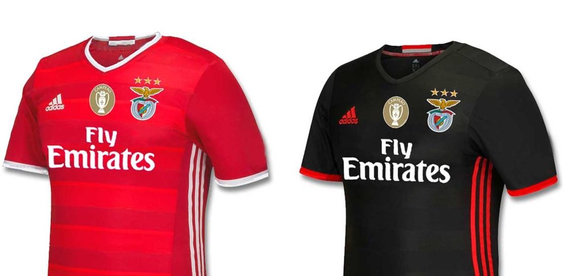 Novas camisolas do Benfica para 2016 2017.  db7942935f56d