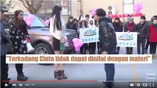 Pria Tiongkok Tolak Rumah dan Mobil Sebagai Hadiah Lamaran Kekasihnya!