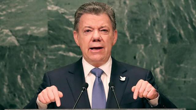 """""""La guerra en Colombia ha terminado"""", asegura Santos en la ONU"""