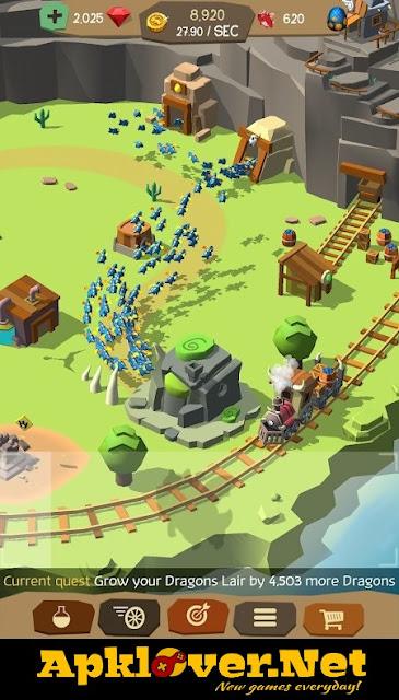 Tiny Dragon Land Mania Legend apk mod