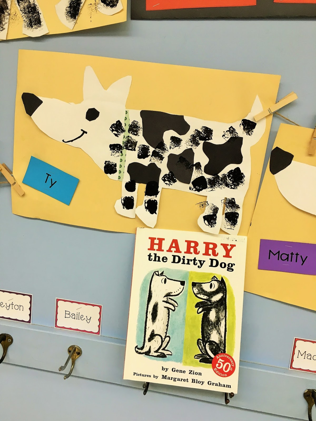 Dog House And Puppy Preschool Craft Template