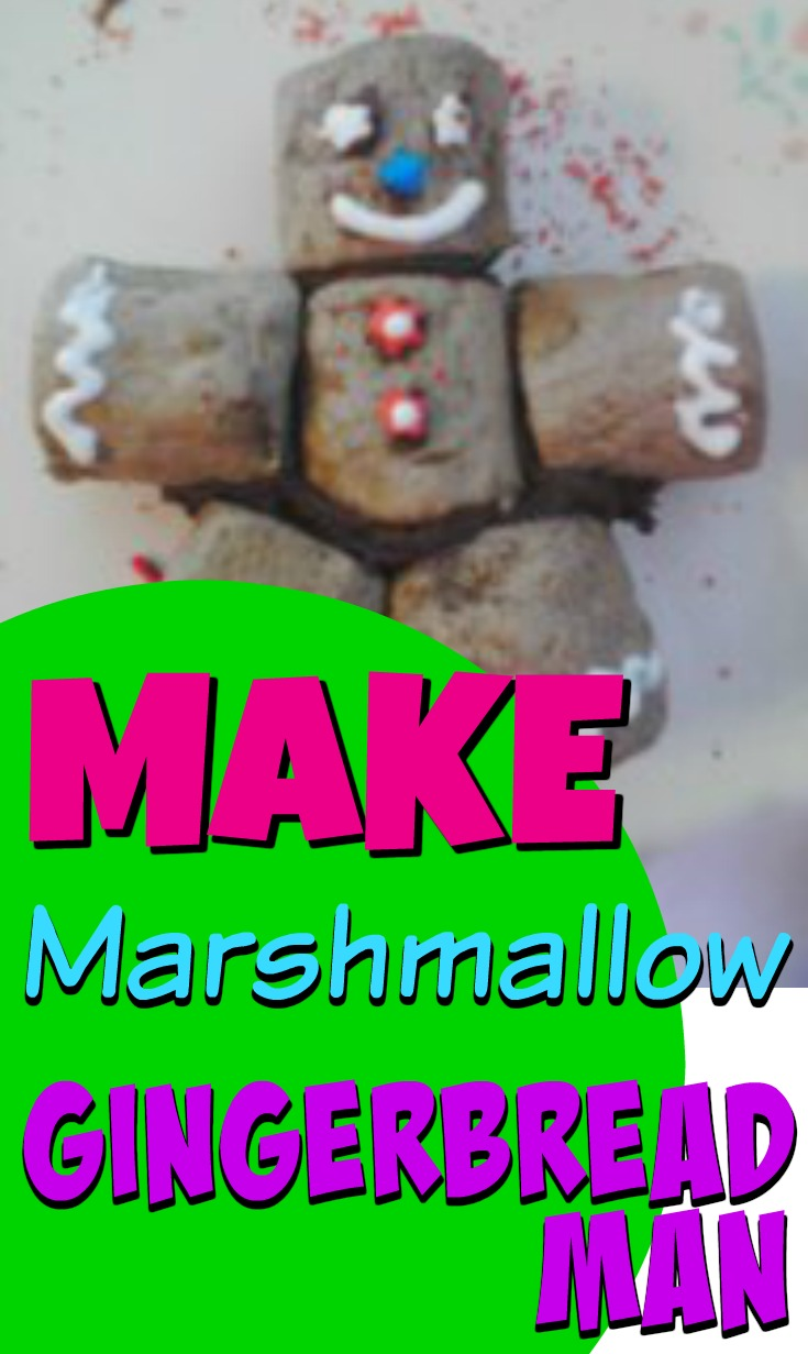 Edible Art Marshmallow Gingerbread Man Activity