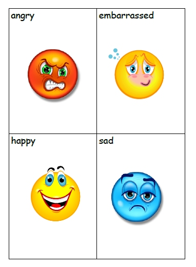 Debbie's Resource Cupboard: Emotion games and cards